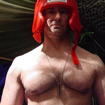 military marine boxer ready to fight