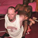 ohio state wrestling hotel room matches