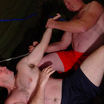 hairy studs older men fighting