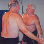 a hairychest grandaddy pawpaws wrestling older men fighting