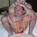 gay wrestling sleeper hold