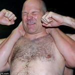 a hairy wrestlers pictures full nelson